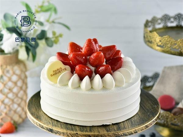 草莓宴会蛋糕