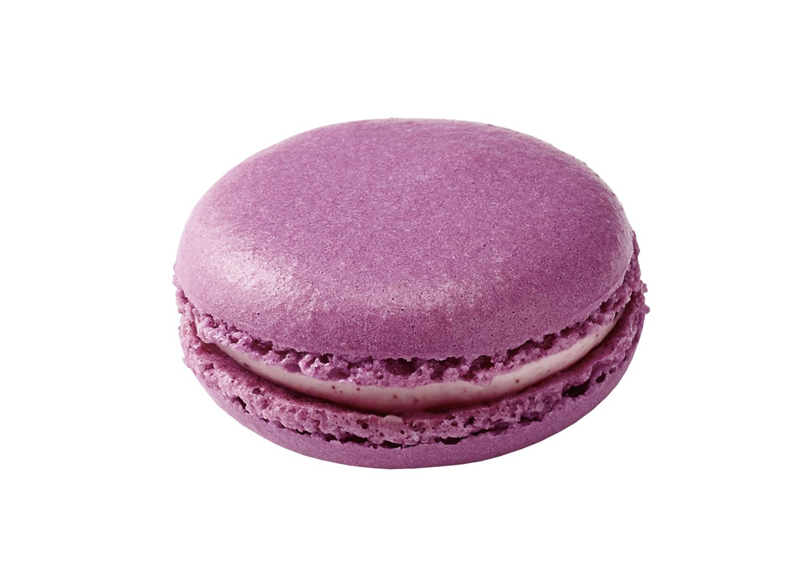 蓝莓味马卡龙