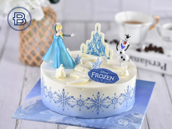 冰雪奇缘蛋糕