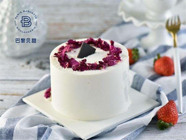 迷你玫瑰荔枝蛋糕