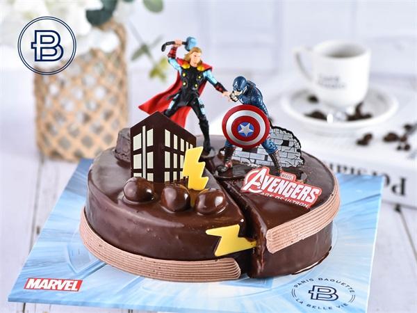 复仇者联盟蛋糕