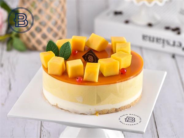 香芒慕斯蛋糕