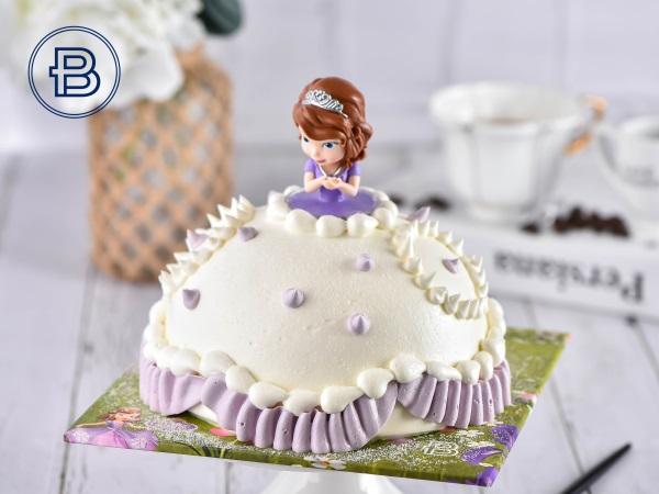 小公主苏菲亚款蛋糕(立体)