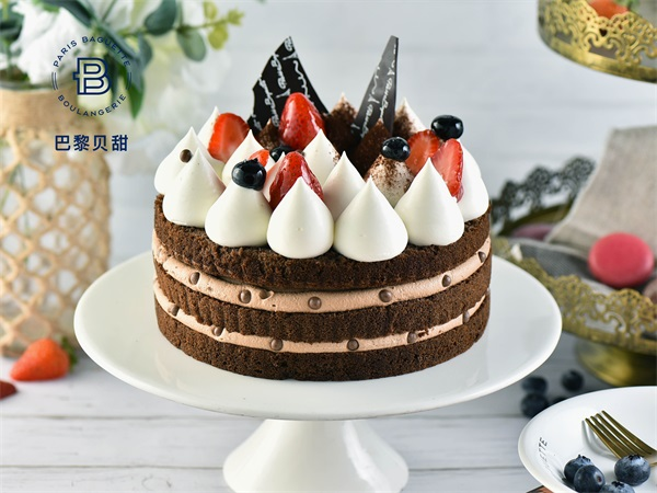 巧克力香脆蛋糕