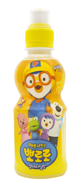 啵乐乐热带水果味饮料